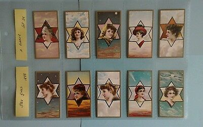 A . Baker Stars Girls Full Set Mint condition in Sleeves ( Repro )