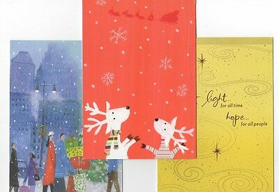 Set of 10 Unicef Christmas Holiday Cards with Envelopes