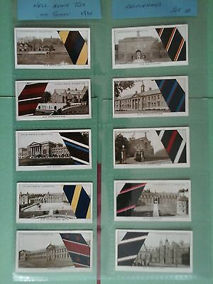 Churchman Well Know Ties 2nd Series Full Set in Excellent Condition in Sleeves
