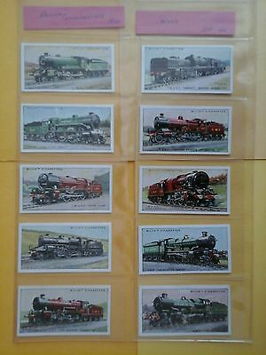 Wills Railway Locomotives Full Set in Excellent Condition in Sleeves