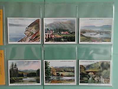 Churchman Holiday in Britain Full Set in Excellent Condition in Sleeves