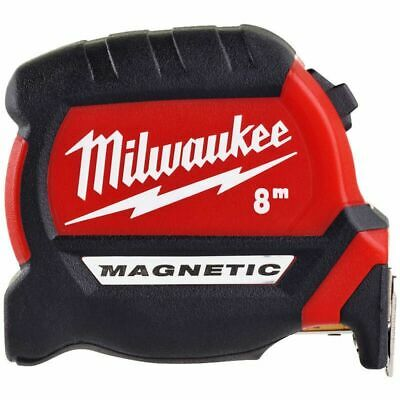 Milwaukee 48227308 8m Measuring Tape with Magnetic Hook and Architect Scale