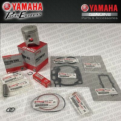New 2010 - 2016 Yamaha Yz250 Yz 250 Complete Oem Top End Piston Kit W/ Gaskets
