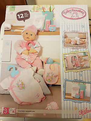 Baby Annabell Deluxe Special Care Outfit Set Brand New