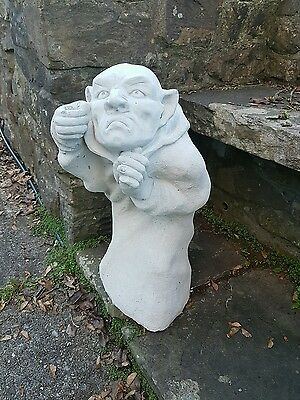 Large statue of a gatekeeper / lantern  garden statue ornament