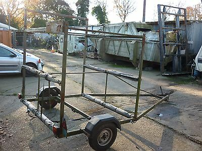 kayak trailer suitable for conversion to car or dolly trailer