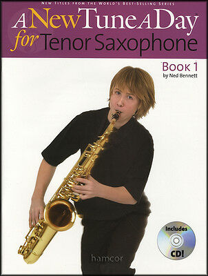A New Tune A Day for Tenor Saxophone 1 Book/CD Learn How to Play Beginner Method