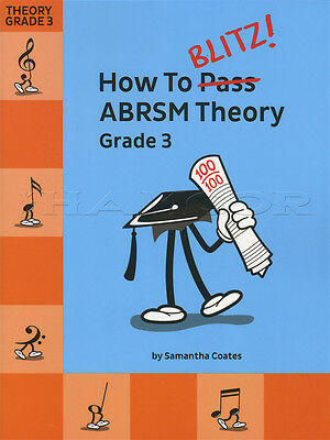 How To Blitz ABRSM Theory Grade 3 Sheet Music Book Tests Exams