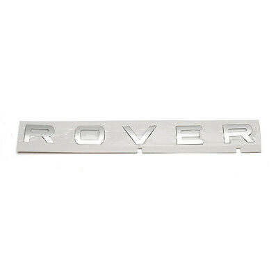 Genuine Land Rover / Range Rover DAB500180MBJ Emblem ROVER Decal Nameplate OEM