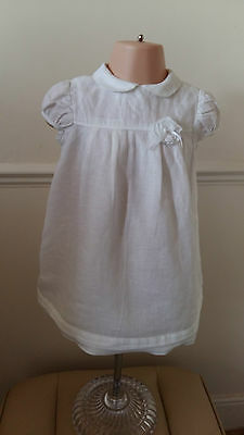 Cacharel Designer Linen Dress Fully Lined No age on dress see sizing in details
