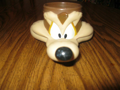 Wile E Coyote  Character Figural Coffee Mug Cup Warner Bros Looney Toons