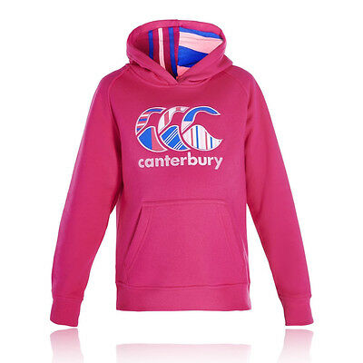 Canterbury Uglies Oth Filles Rose Manche Longue Sweat À Capuche Top Sweater