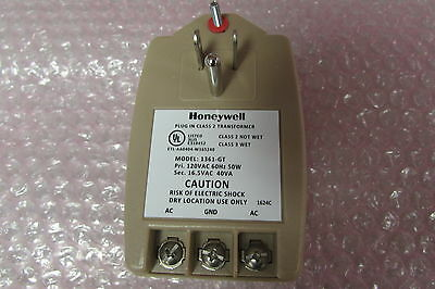 Honeywell 1361 16.5VAC 40VA Plug In Transformer use w/ V21IP 1361-GT