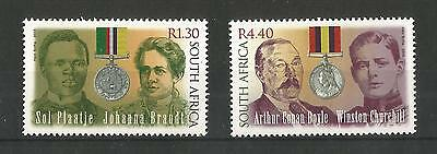 South Africa 2000 Anglo-Boer War Sg,1203-1204 Un/mm Nh Lot 1432A