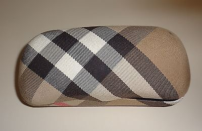 Burberry Sunglass Case Authentic Clamshell Nova Check