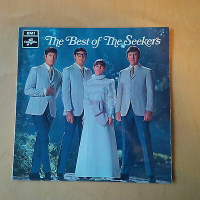 """The Best of The Seekers. 12"""" Vinyl. VGUC"""