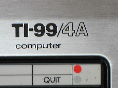 Texas Instruments TI-99/4A + Extended Basic-Modul