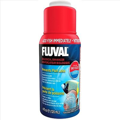 FLUVAL BIOLOGICAL CYCLE  WATER FILTER BACTERIA FISH TANK NUTRAFIN 120ml