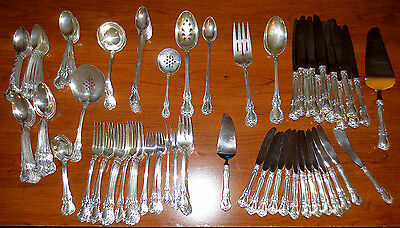 OLD MASTER BY TOWLE STERLING SILVER FLATWARE SET Nearly   11 Pounds   122 PIECES