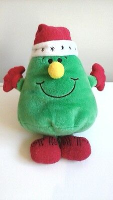Extremeley Rare Mr Men Mr Christmas Limited edition soft toy teddy