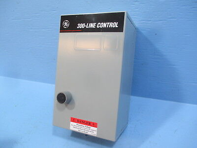 New General Electric GE CR306A102 Size 00 Enclosed Starter 120V Coil 3 Pole NIB