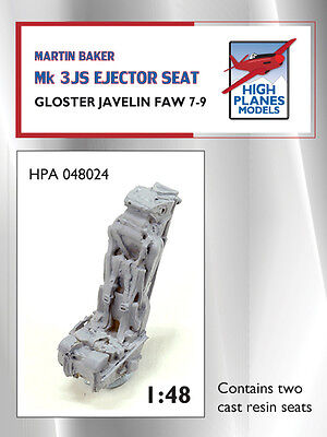 1:48 HIGH PLANES MB Mk.3JS Ejector Seat Twin Pack