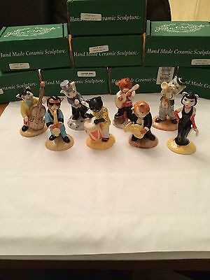 Beswick Cats Chorus Original 8 Piece Collection Boxed New