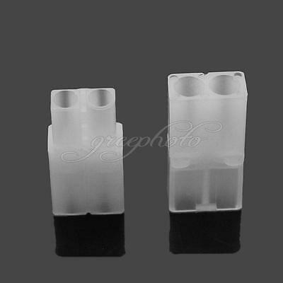 1 Set 2 Way Male Female Electrical Plug Car Motorcycle Boat Connector Terminal