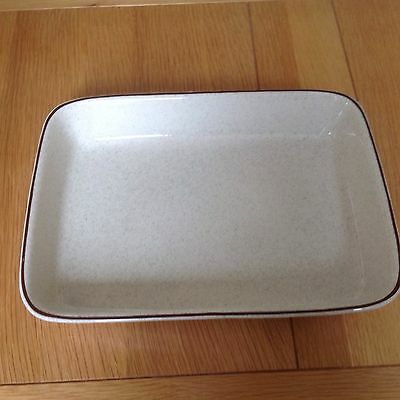 Poole Pottery Parkstone Design Large  Rectangular Oven /Serving Dish Rare VGC