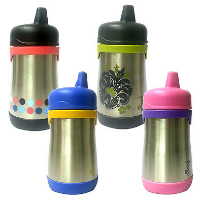 Thermos Foogo Vacuum Insulated Stainless Steel Hard Spout Sippy Cup 10oz
