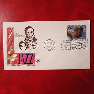 FDC USA Louis Armstrong , Music