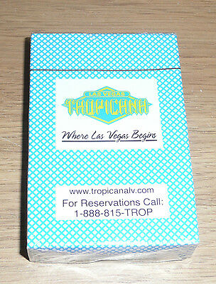 Tropicana Las Vegas Playing Cards NEW/SEALED - FREE POSTAGE