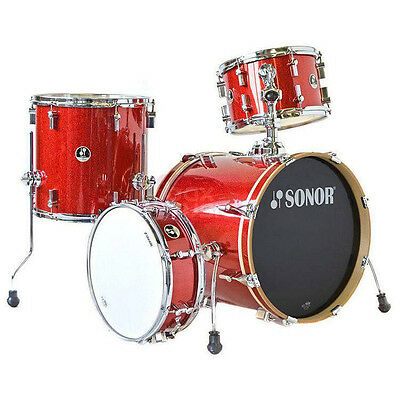 Sonor Bop SE 18 Inch Shell Pack, Red Sparkle (NEW)