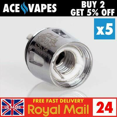 SMOK TFV8 BABY BEAST COILS (V8 Q2 0.4 Ohm) - Authentic UK Seller - In Stock