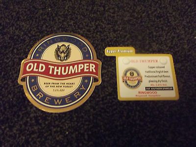 Ringwood Brewery - Old Thumper Pump Clip
