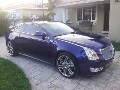 2012 Cadillac CTS Coupe 2012 Cadillac CTS Performance Coupe AWD
