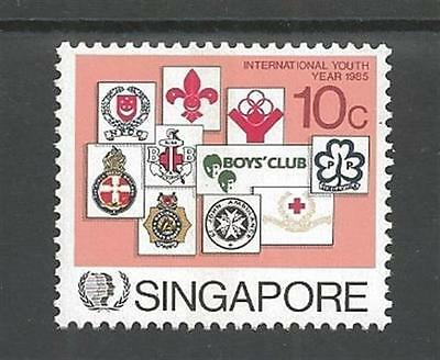 1985 Scouts Singapore Girl Guides IYY