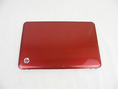 HP Pavillion G6-1000 Genuine Laptop LCD Top Lid Cover Red Grade C 643243-001