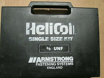 Helicoil - ⅜ Unf - Tapping Recoil Kit  3/8