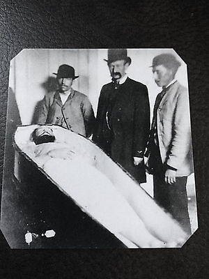 Jesse James In His Coffin 1882 Tintype C909NP