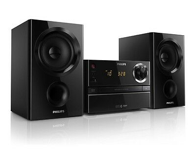 Philips Btm1360/05 Micro Music System New!!! Mp3 Usb Aux