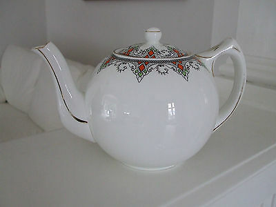 Vintage Art Deco Hand Painted Teapot Alfred B. Pearce & Co.