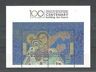 South Africa 2012 Health Sciences Minisheet Sg,ms1969 Un/mm Nh Lot 1440A