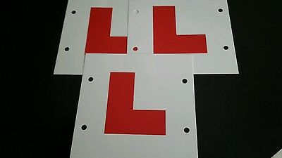 L PLATES (learning ,driving,)
