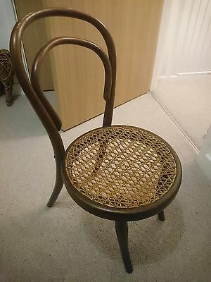 Antique Thonet Bentwood Child's Ice Cream Chair