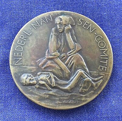 Netherlands - Medallion - Famine in Russia 1923 - 41 mm.