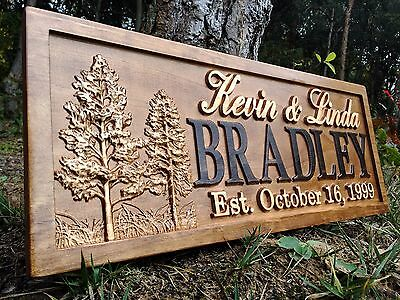 Old west saloon sign bar personalized custom carved wood for Cabin signs wood