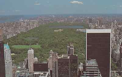 Old Postcard: AERIAL VIEW OF CENTRAL PARK, United States
