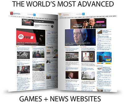 The Biggest News Website + Games Website - Fully Automated Make Money Business