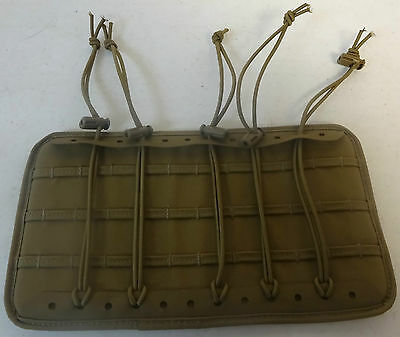 Military Bag/Pack/ Insert Panel Velcro Coyote Extremely Gently Used